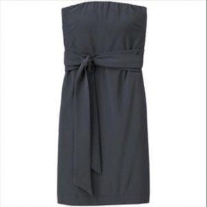 NWT Athleta Strapless Anywhere Dress Grey 4